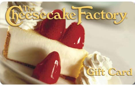 Cheesecake Factory Gift Cards Bulk Fulfillment Order Online