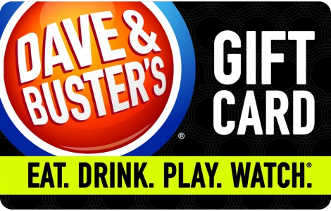 The ultimate combination of food & fun is at Dave & Buster's with the Eat & Play Combo® starting at only $*!