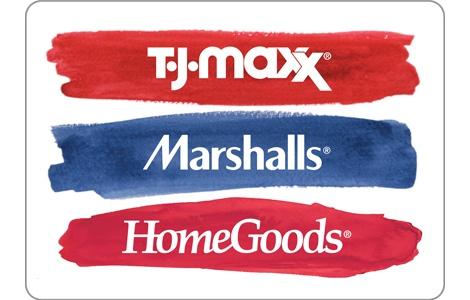 TJMaxx Gift Cards, Bulk Fulfillment, eGift, Order, Online, Buy