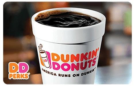 Dunkin Donuts Gift Cards, Bulk Fulfillment, Order, Online, Buy