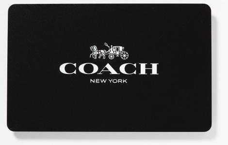 coach gift card balance